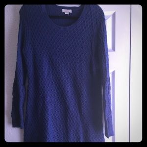 LOFT Sweater Dress Sz L